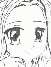 """portret mieszkańca w stylu """"manga"""" jako element dekoracyjny ściany"""